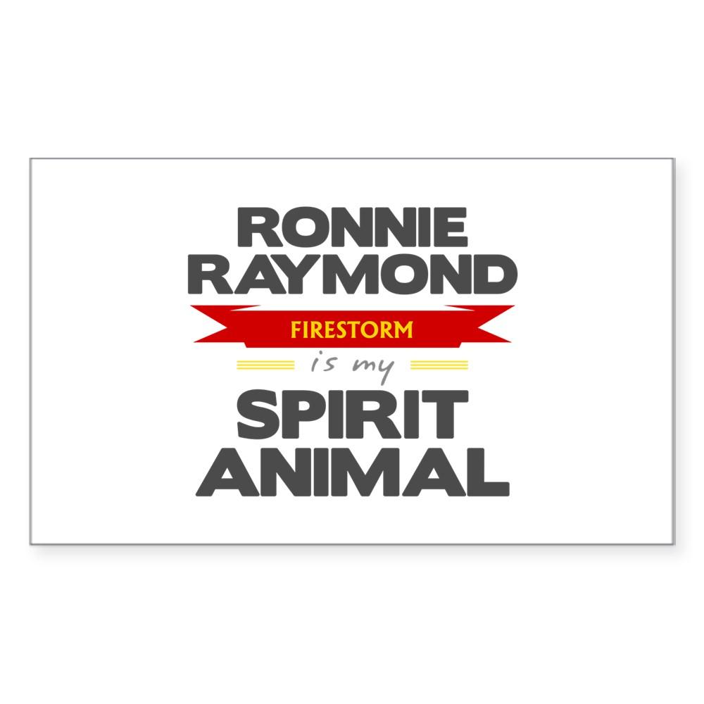 Ronnie Raymond is my Spirit Animal Rectangle Sticker