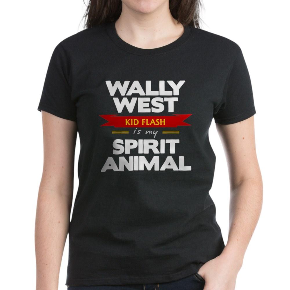 Wally West is my Spirit Animal Women's Dark T-Shirt