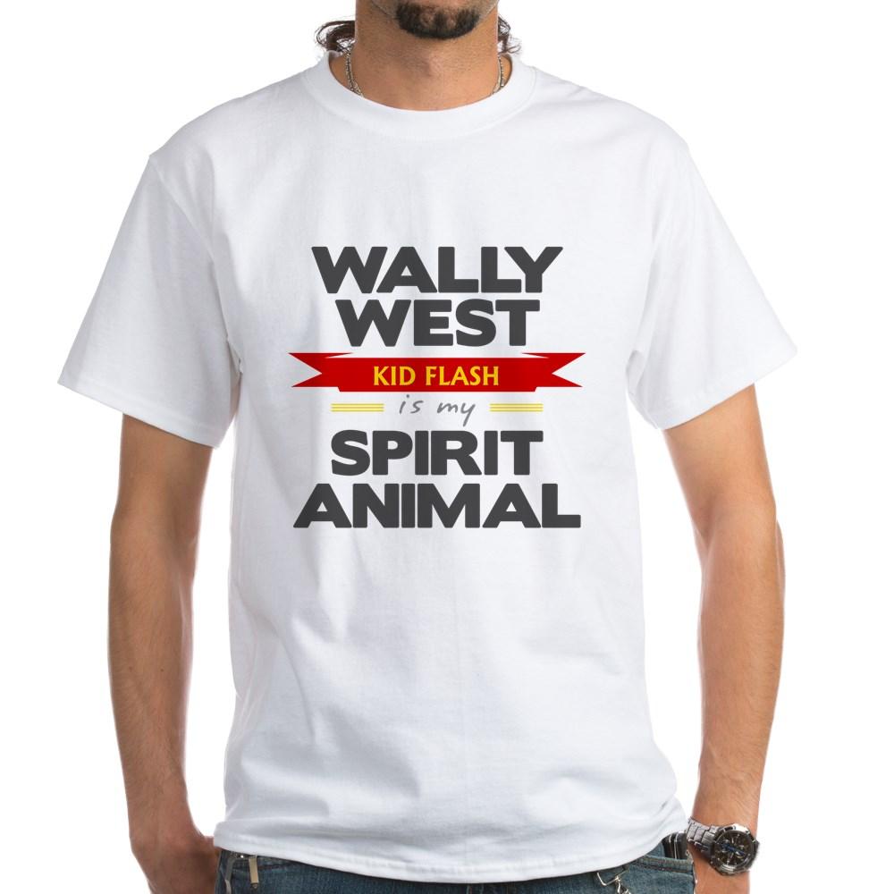 Wally West is my Spirit Animal White T-Shirt