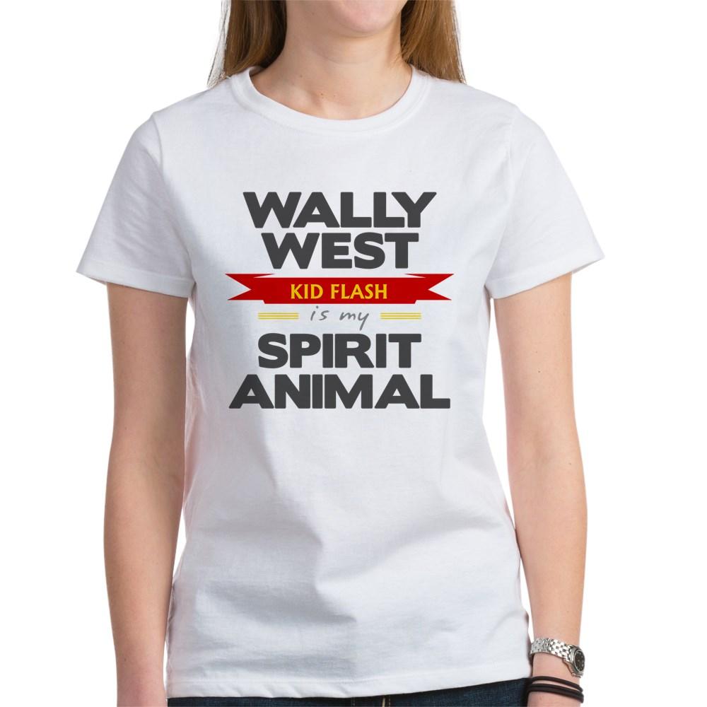 Wally West is my Spirit Animal Women's T-Shirt