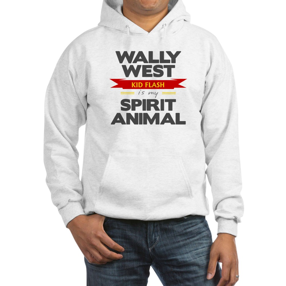 Wally West is my Spirit Animal Hooded Sweatshirt