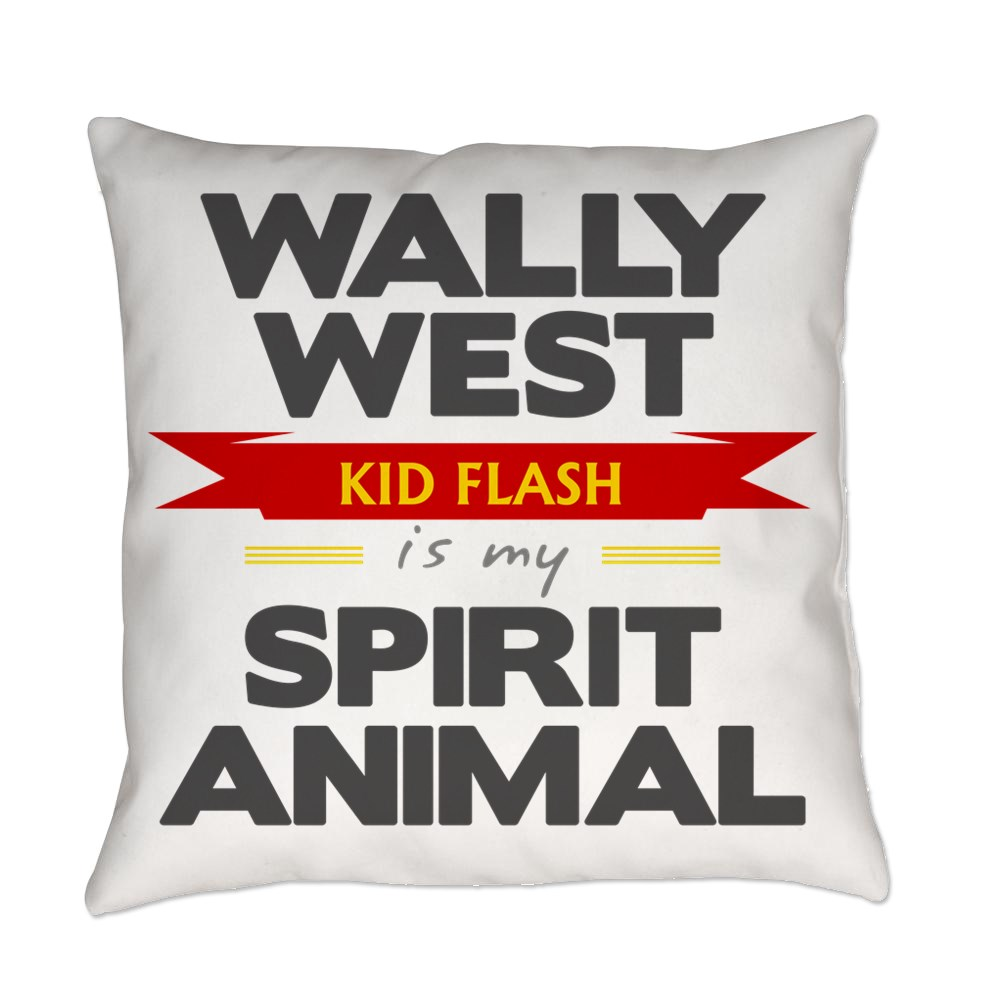 Wally West is my Spirit Animal Everyday Pillow