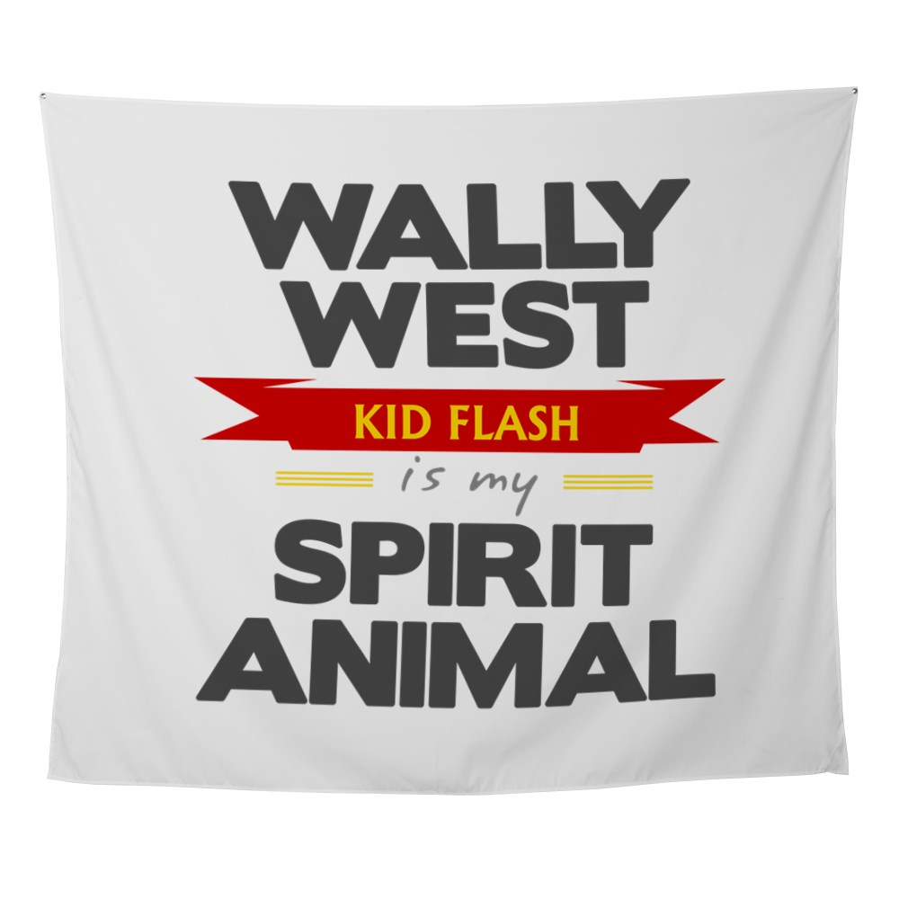 Wally West is my Spirit Animal Wall Tapestry
