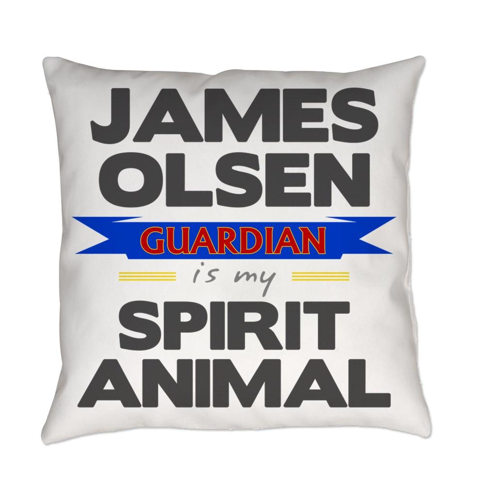 James Olsen is my Spirit Animal Everyday Pillow