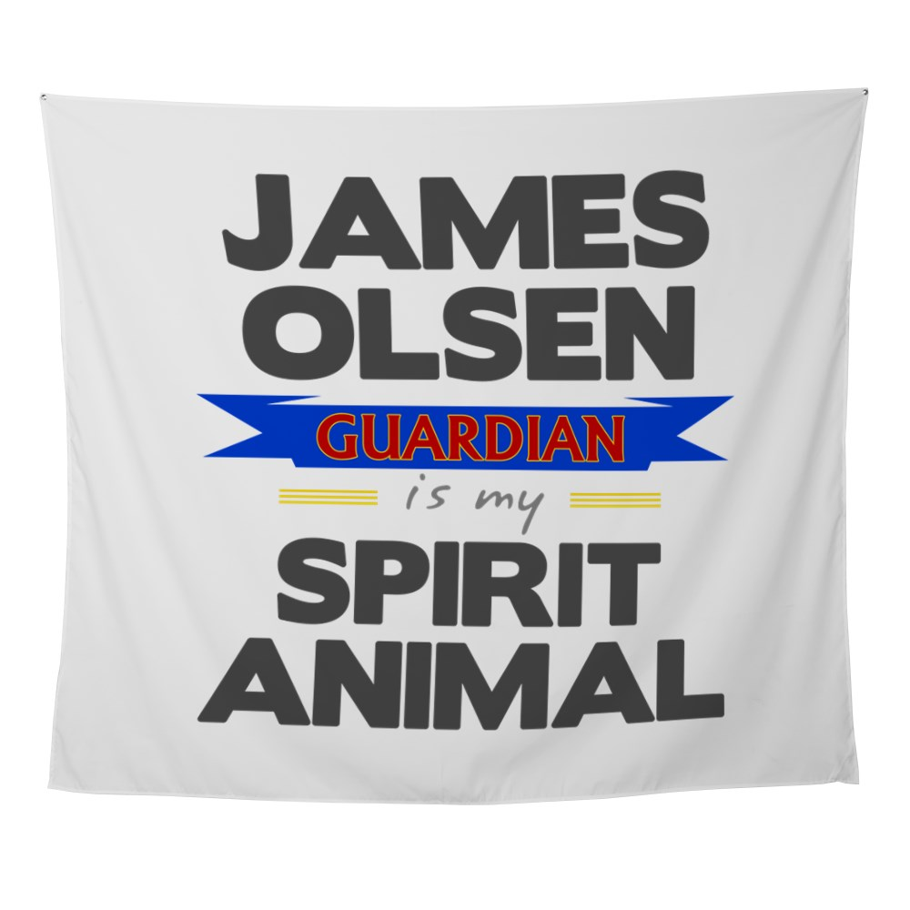 James Olsen is my Spirit Animal Wall Tapestry