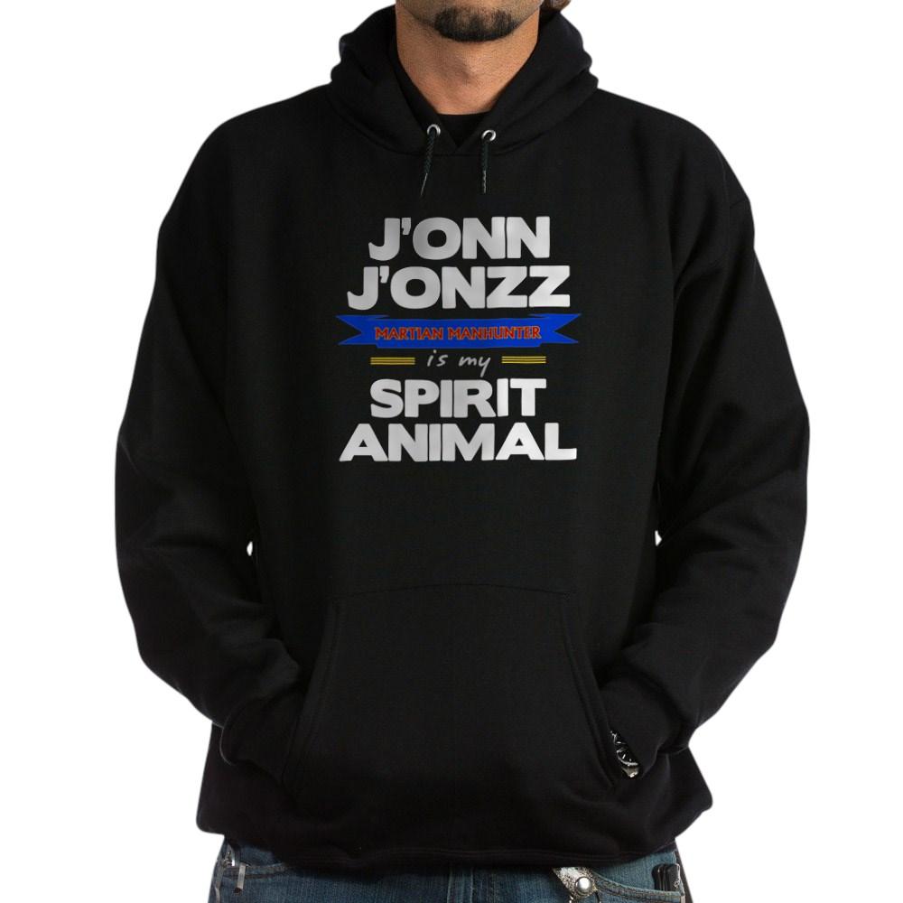 J'onn J'onzz is my Spirit Animal Dark Hoodie