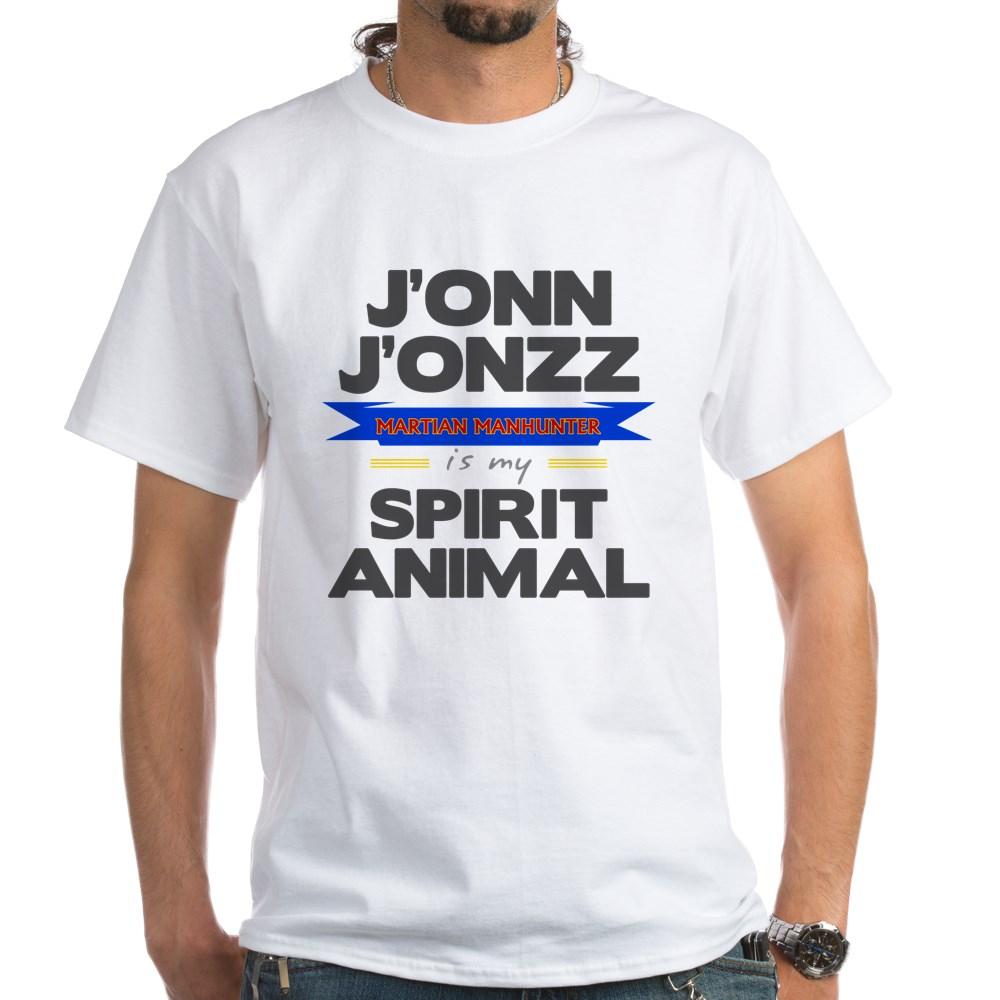 J'onn J'onzz is my Spirit Animal White T-Shirt
