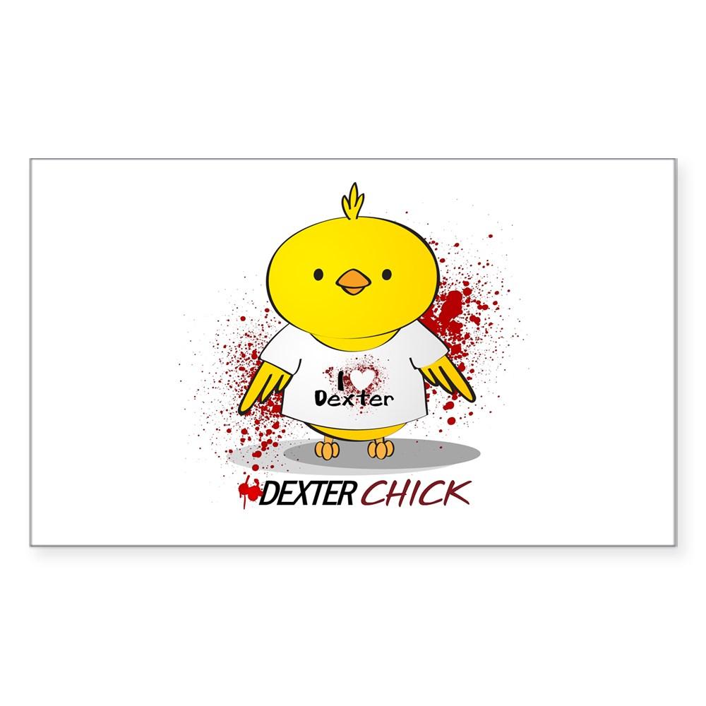 Dexter Chick Rectangle Sticker