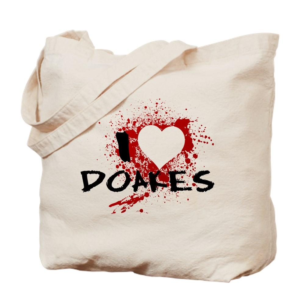 I Heart Doakes - Dexter Tote Bag