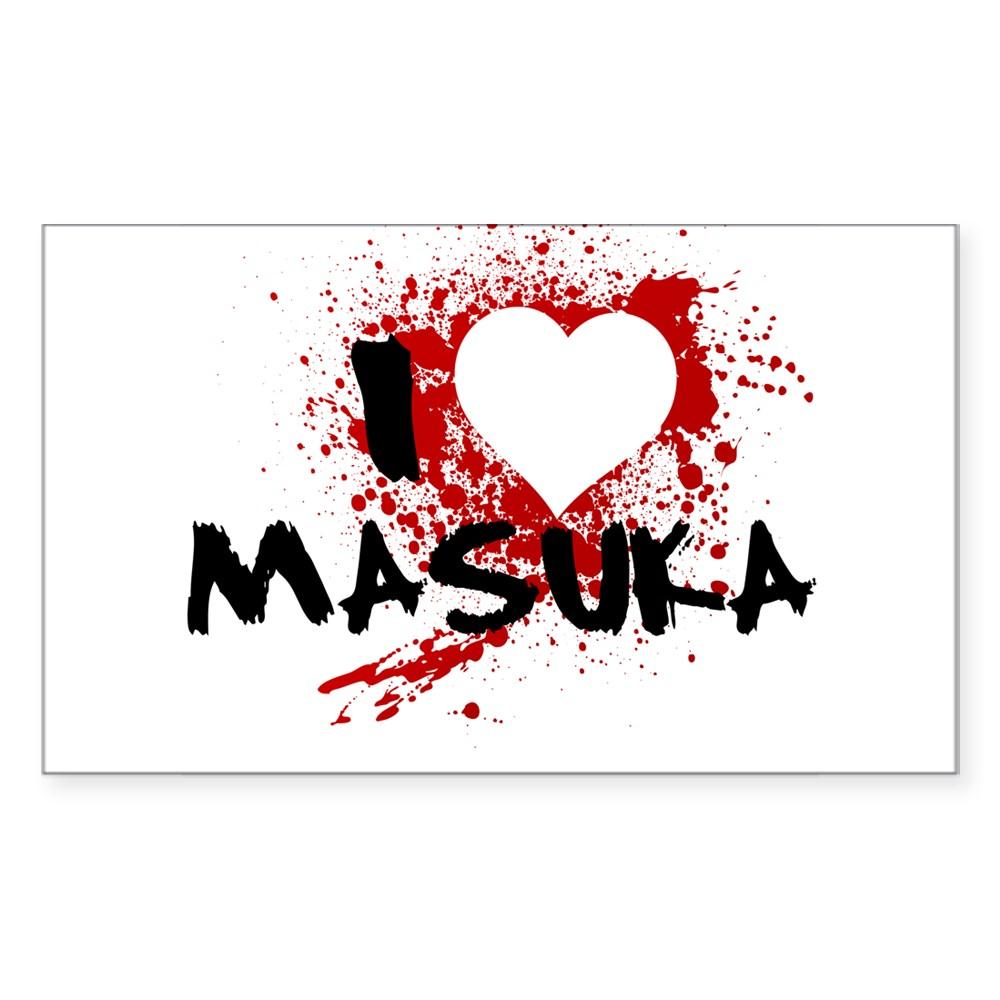 I Heart Masuka - Dexter Rectangle Sticker