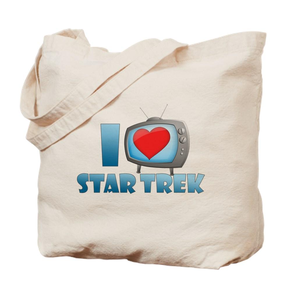I Heart Star Trek Tote Bag