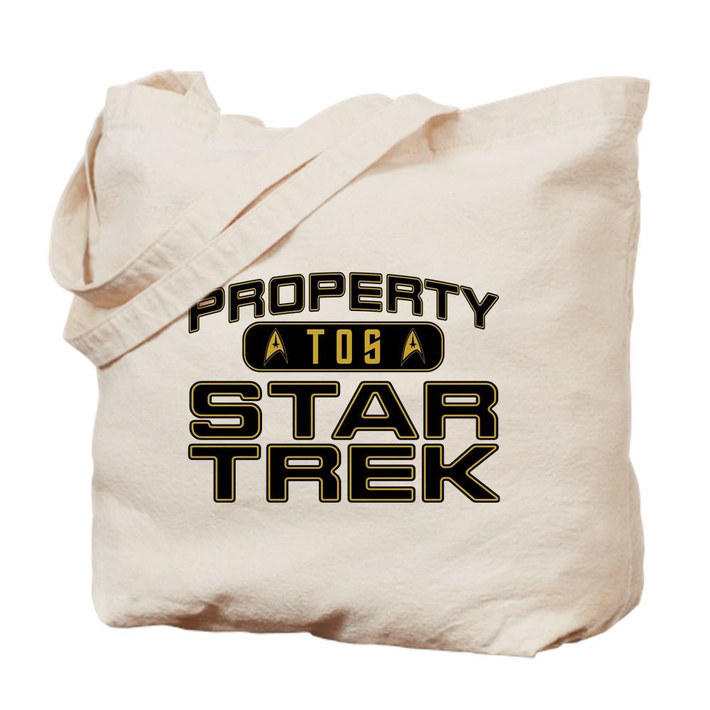 Gold Property Star Trek - TOS Tote Bag