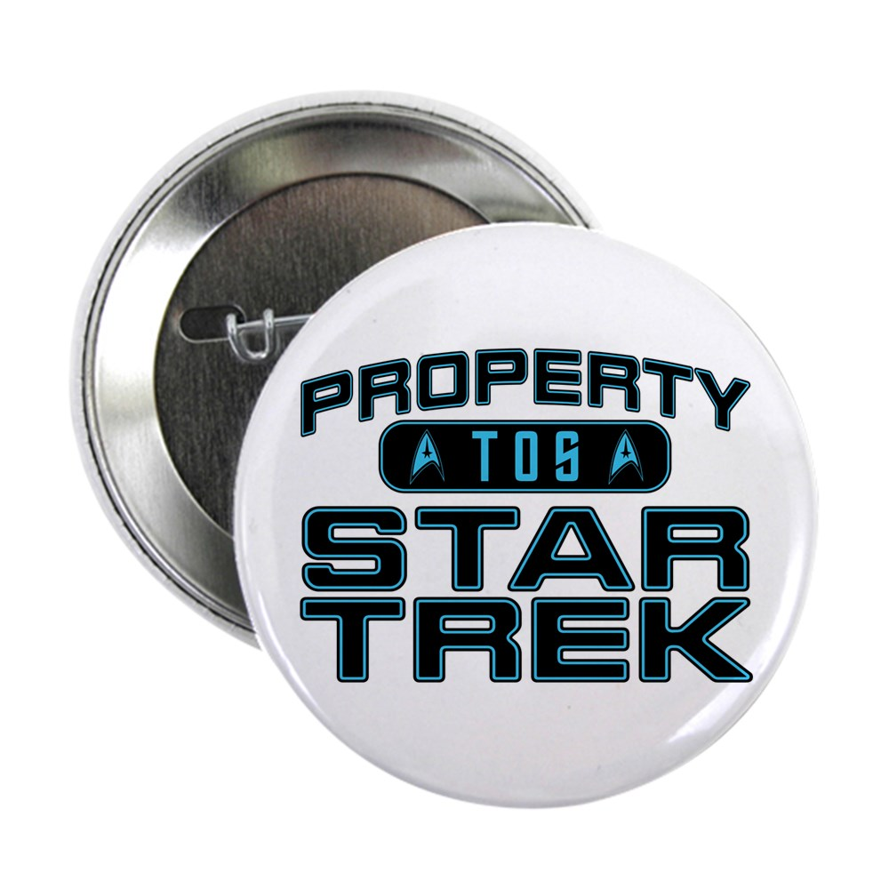 Blue Property Star Trek - TOS 2.25