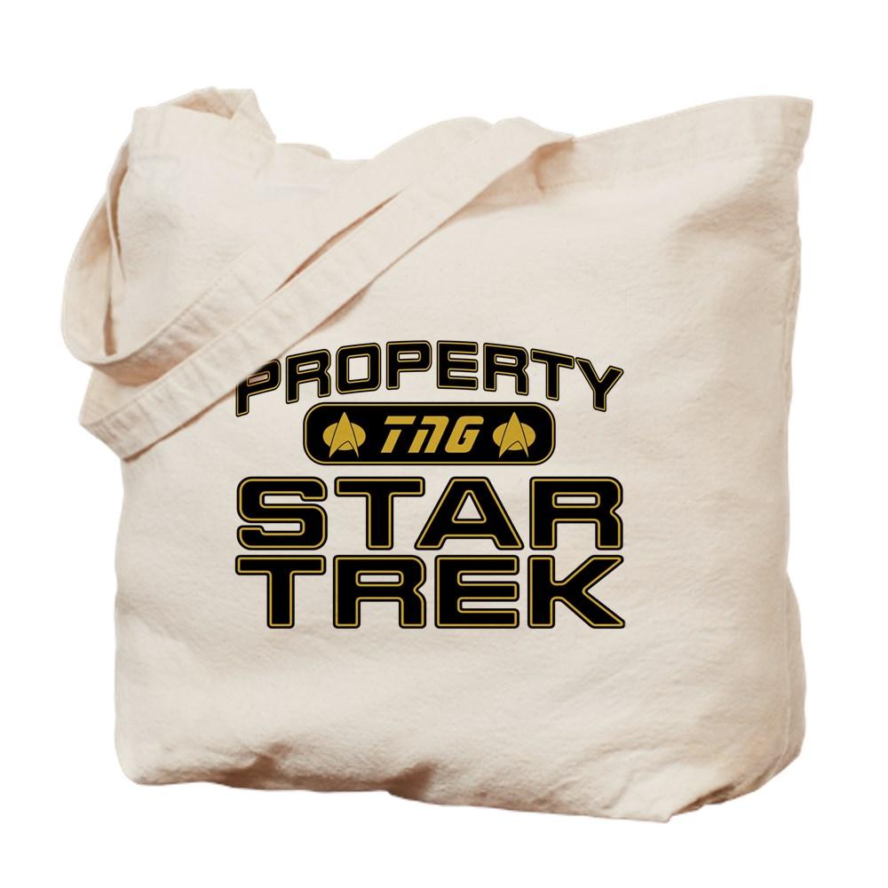 Gold Property Star Trek - TNG Tote Bag