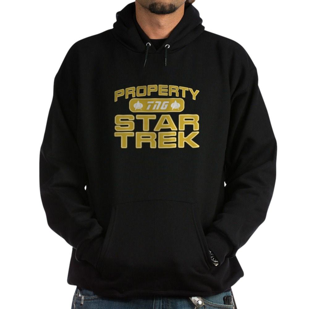 Gold Property Star Trek - TNG Dark Hoodie
