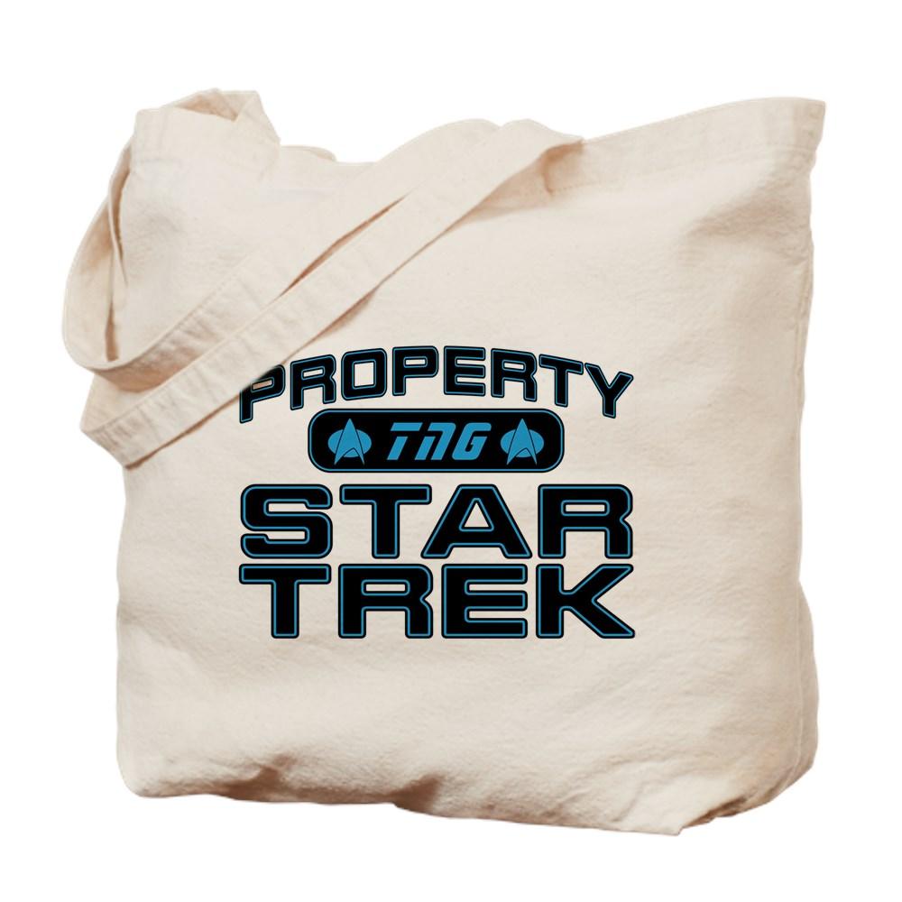 Blue Property Star Trek - TNG Tote Bag
