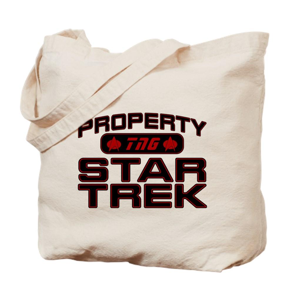 Red Property Star Trek - TNG Tote Bag