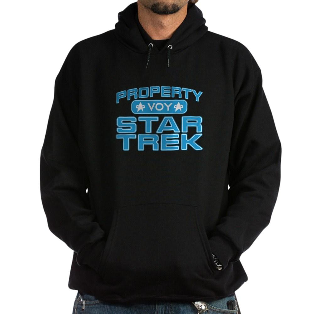 Blue Property Star Trek - VOY Dark Hoodie