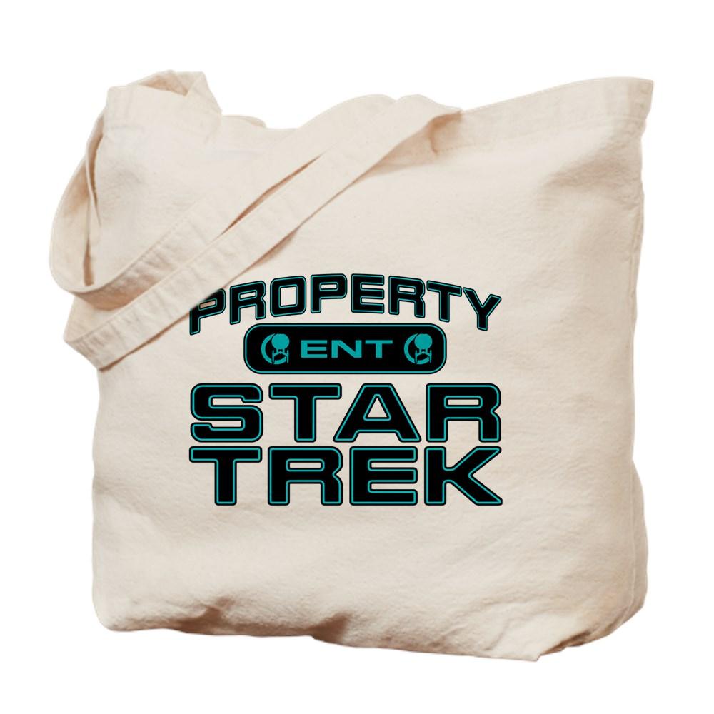 Blue Property Star Trek - ENT Tote Bag