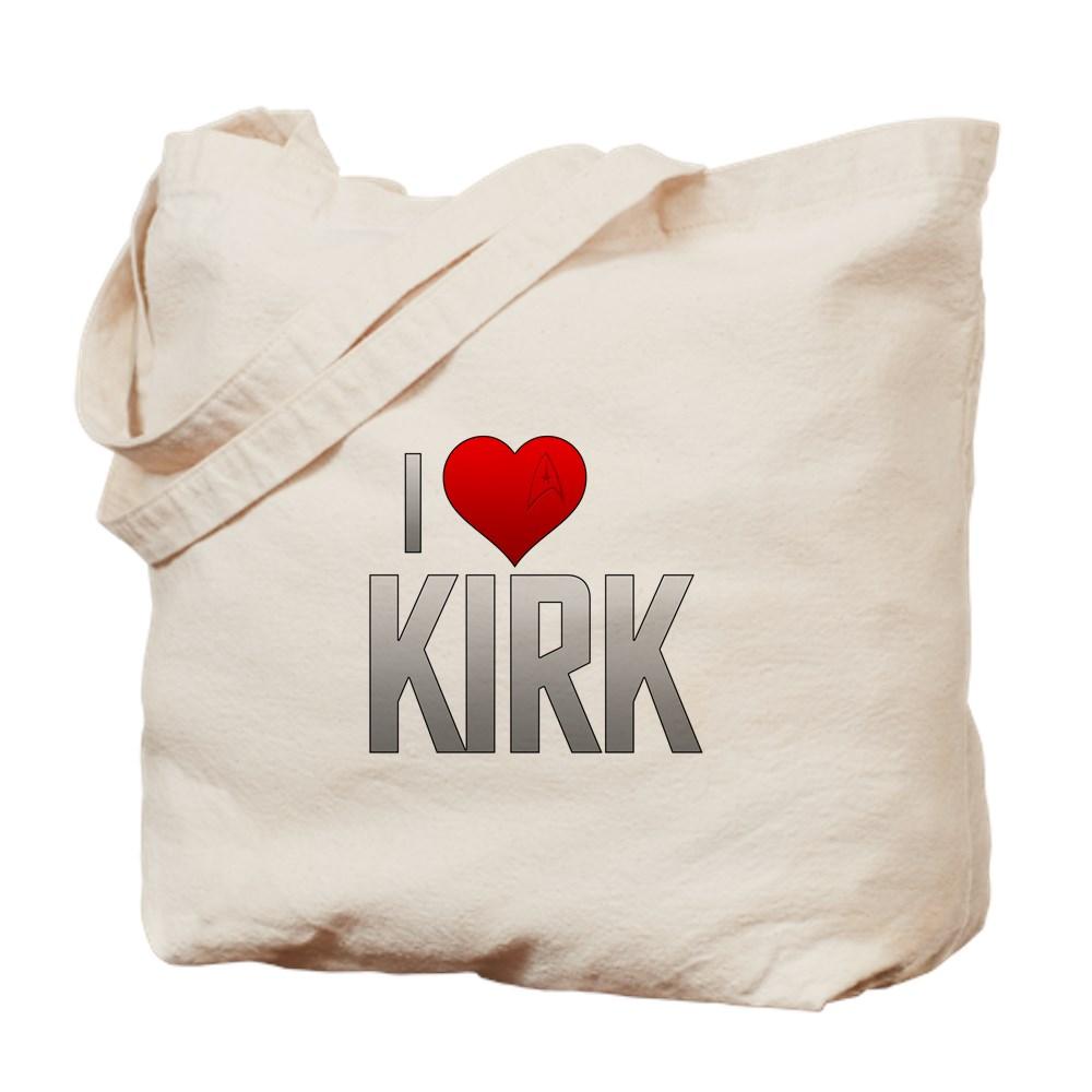 I Heart Kirk Tote Bag