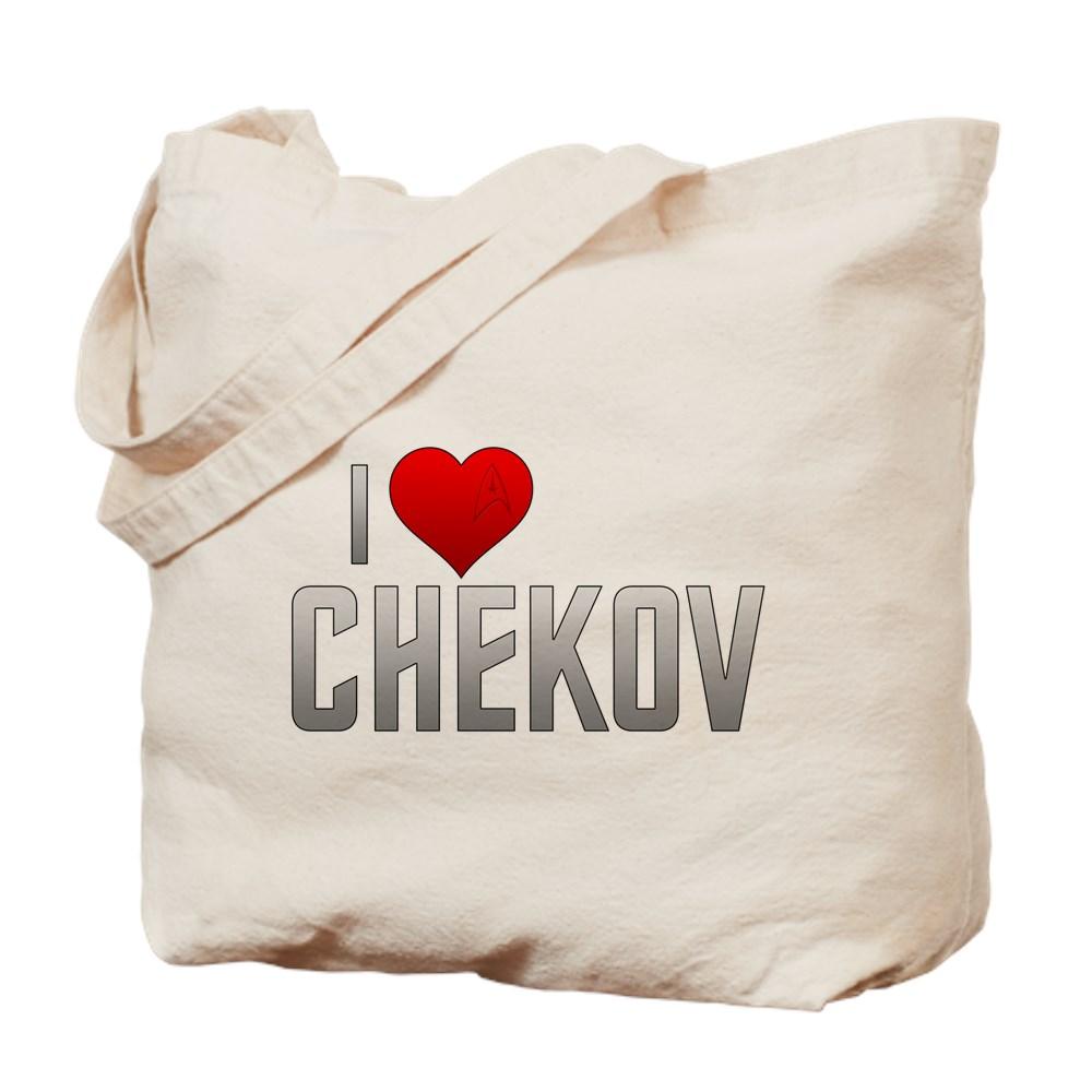 I Heart Chekov Tote Bag