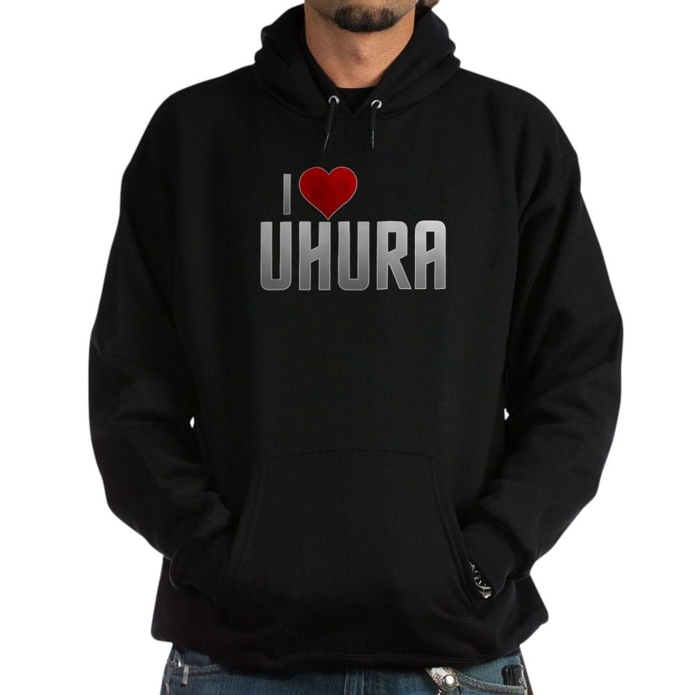 I Heart Uhura Dark Hoodie