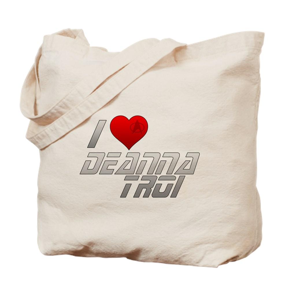 I Heart Deanna Troi Tote Bag