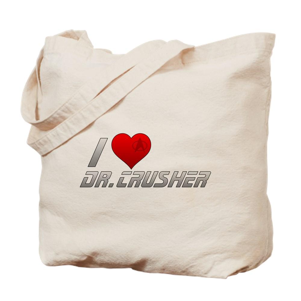 I Heart Dr. Crusher Tote Bag