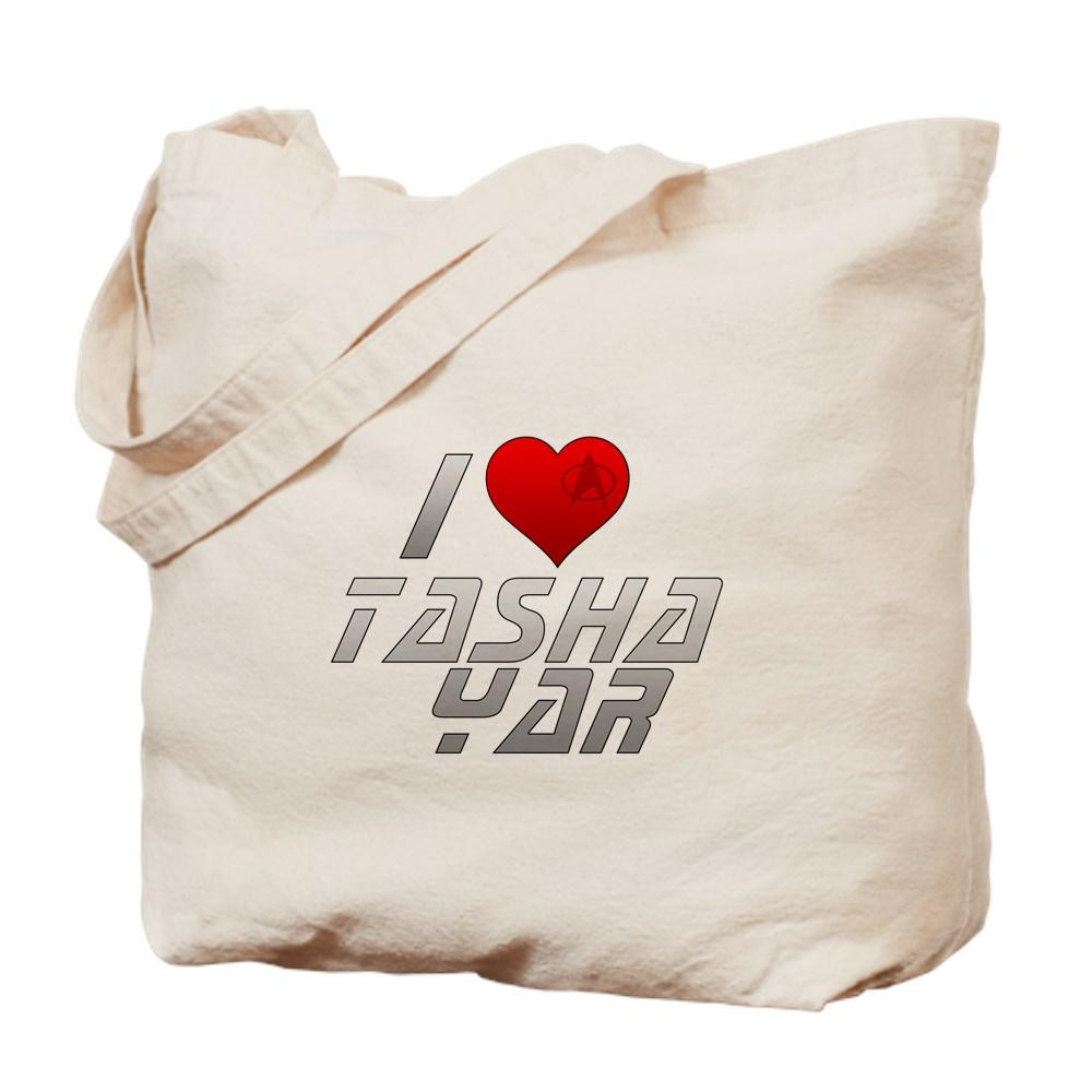 I Heart Tasha Yar Tote Bag