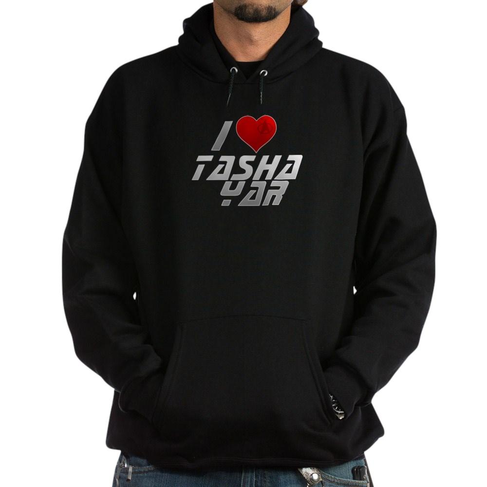 I Heart Tasha Yar Dark Hoodie