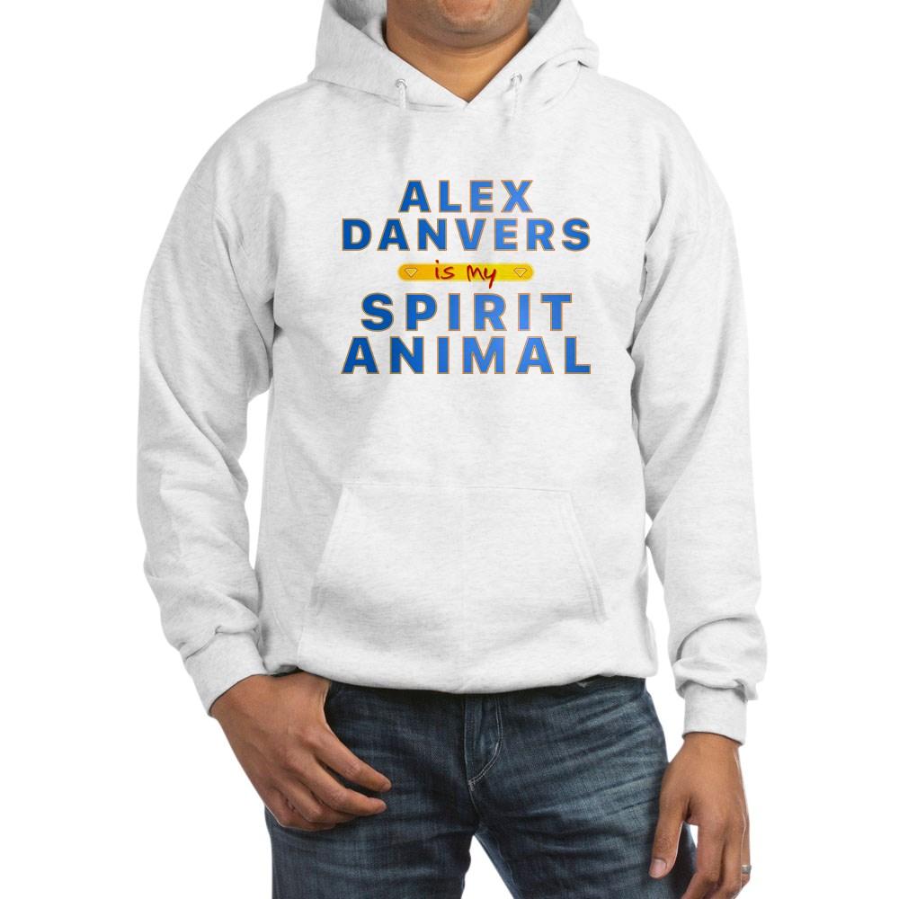 Alex Danvers is my Spirit Animal Hooded Sweatshirt