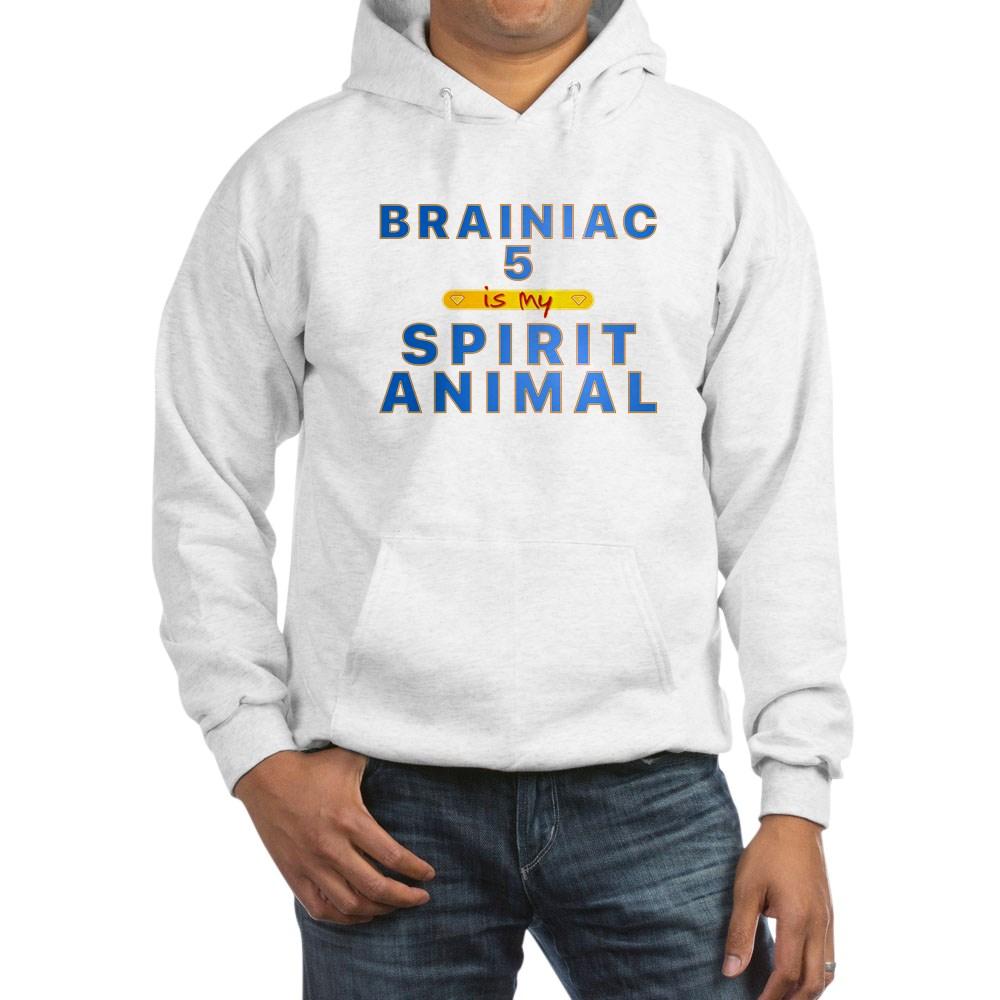 Brainiac 5 is my Spirit Animal Hooded Sweatshirt