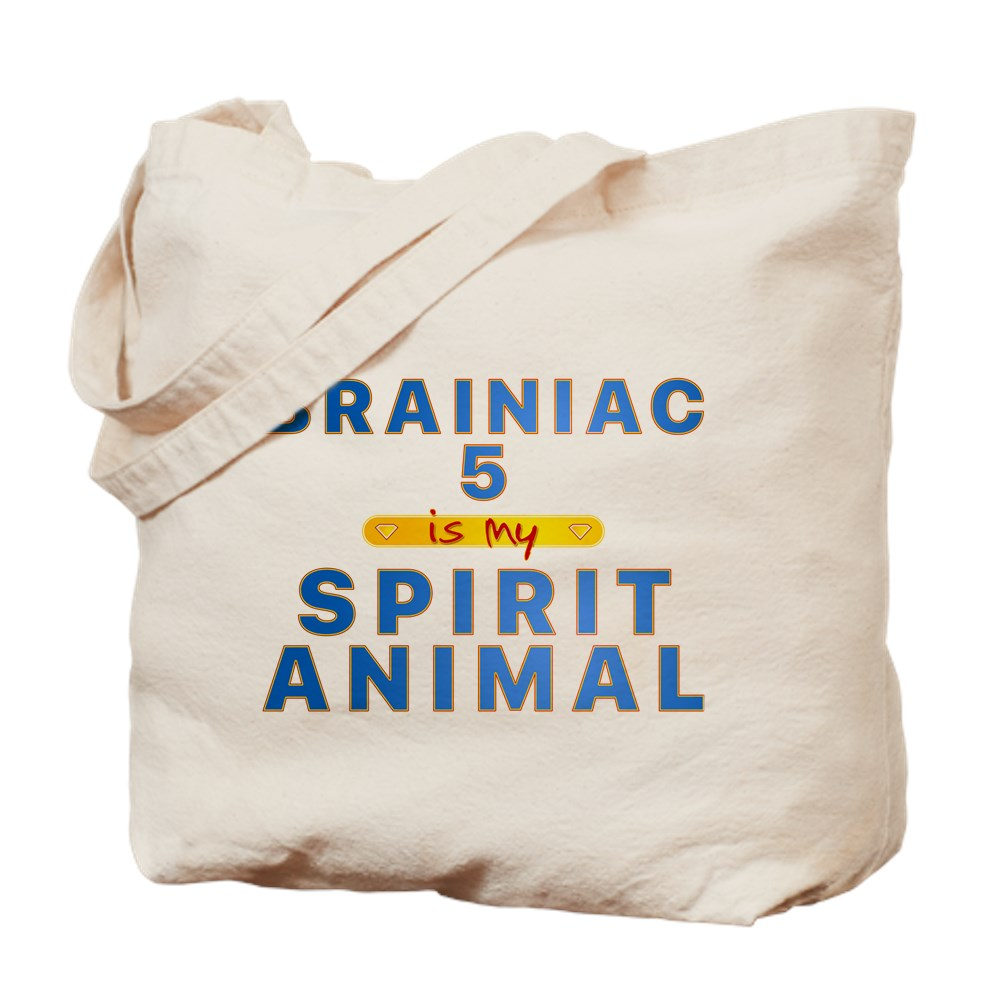 Brainiac 5 is my Spirit Animal Tote Bag