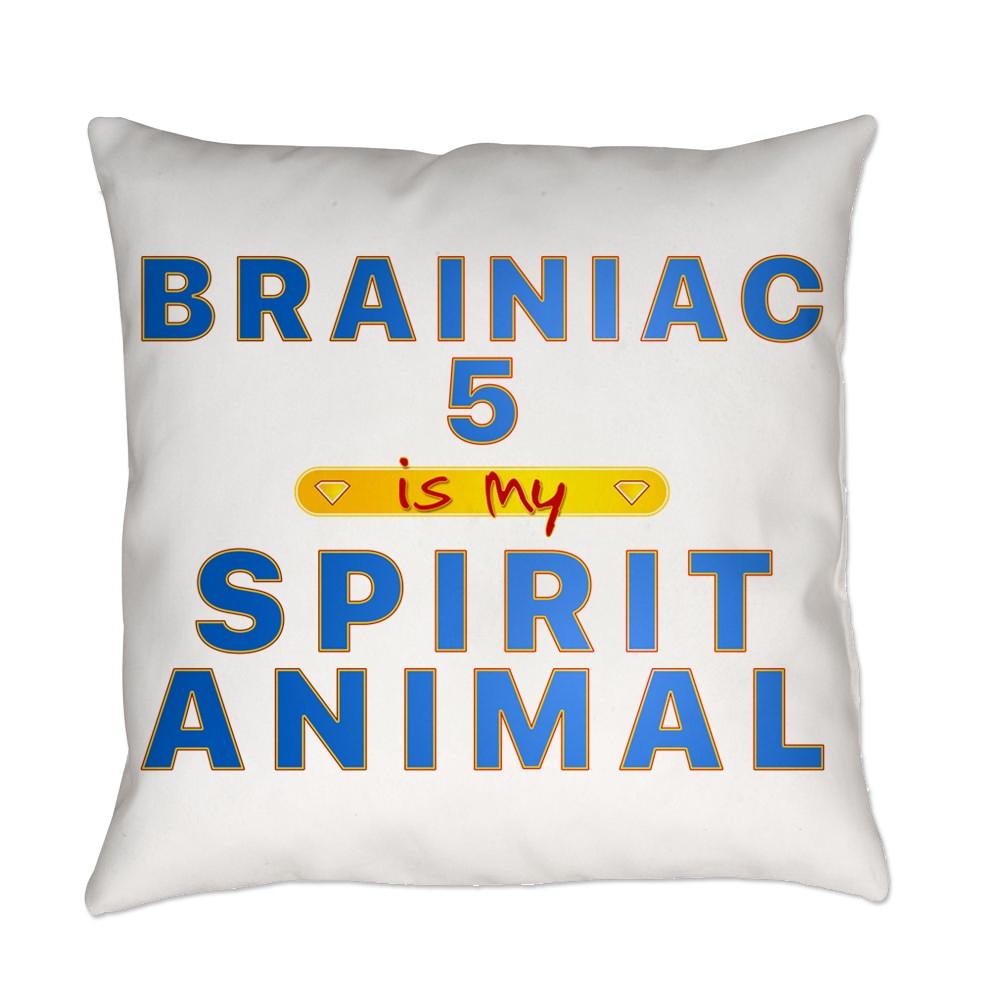 Brainiac 5 is my Spirit Animal Everyday Pillow