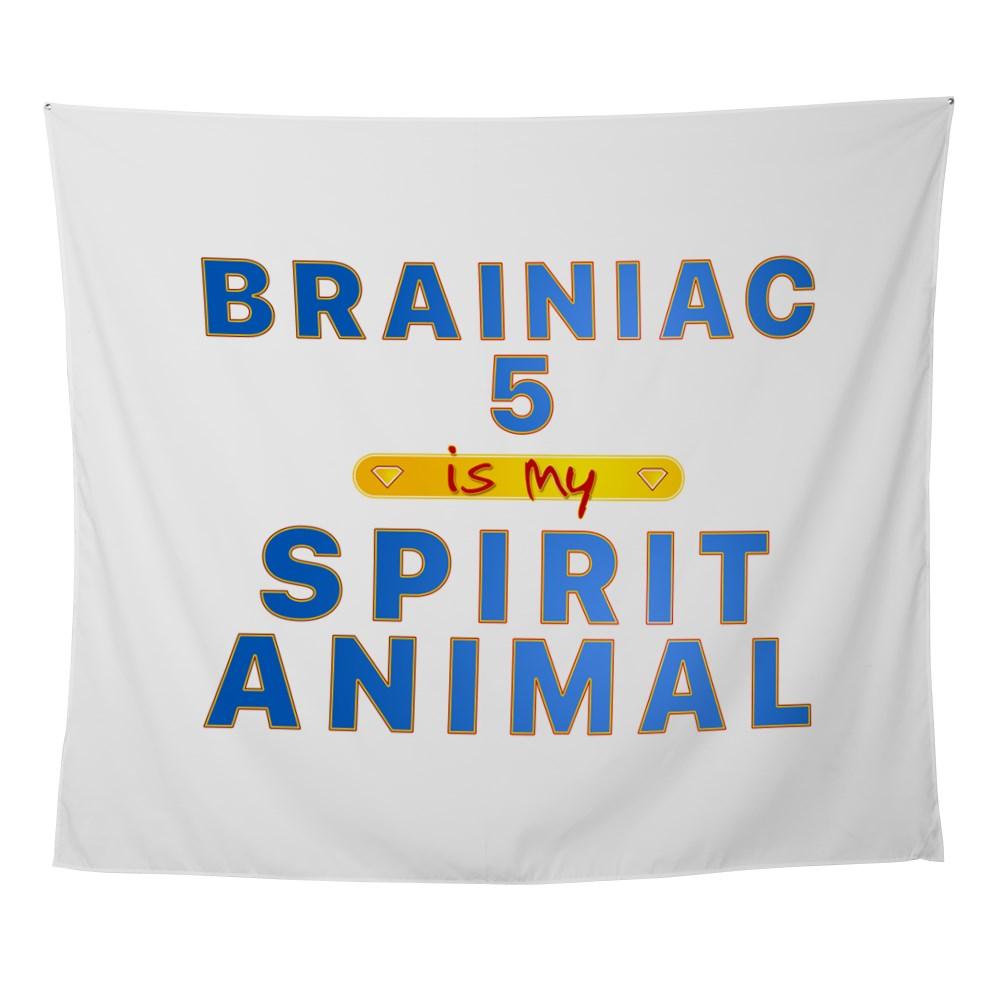 Brainiac 5 is my Spirit Animal Wall Tapestry