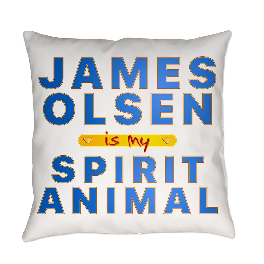 james olsen spirit animal Everyday Pillow