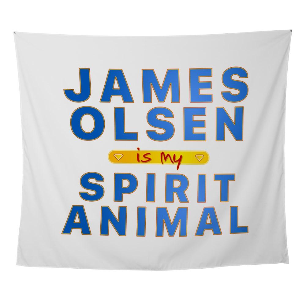 james olsen spirit animal Wall Tapestry