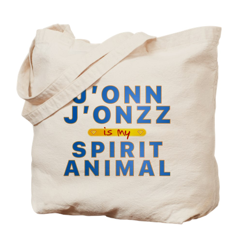 J'onn J'onzz is my Spirit Animal Tote Bag