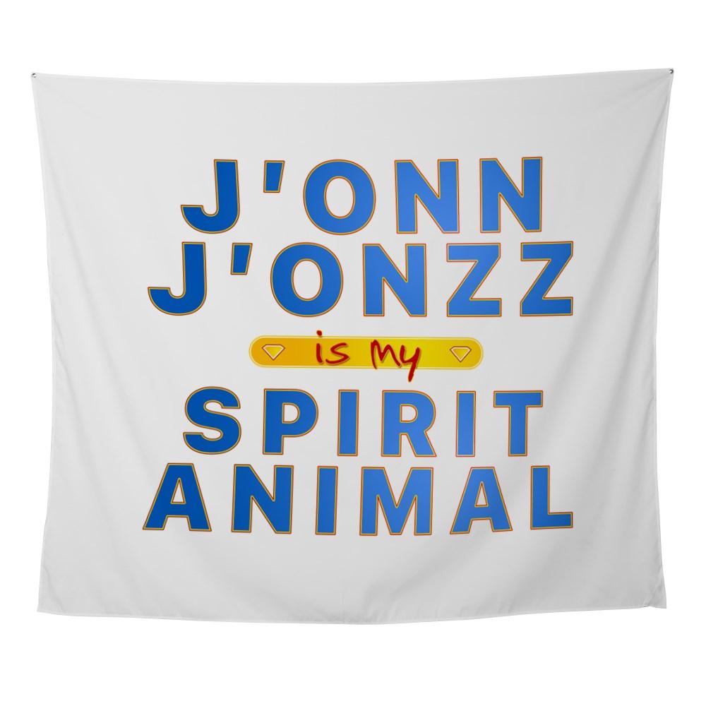 J'onn J'onzz is my Spirit Animal Wall Tapestry