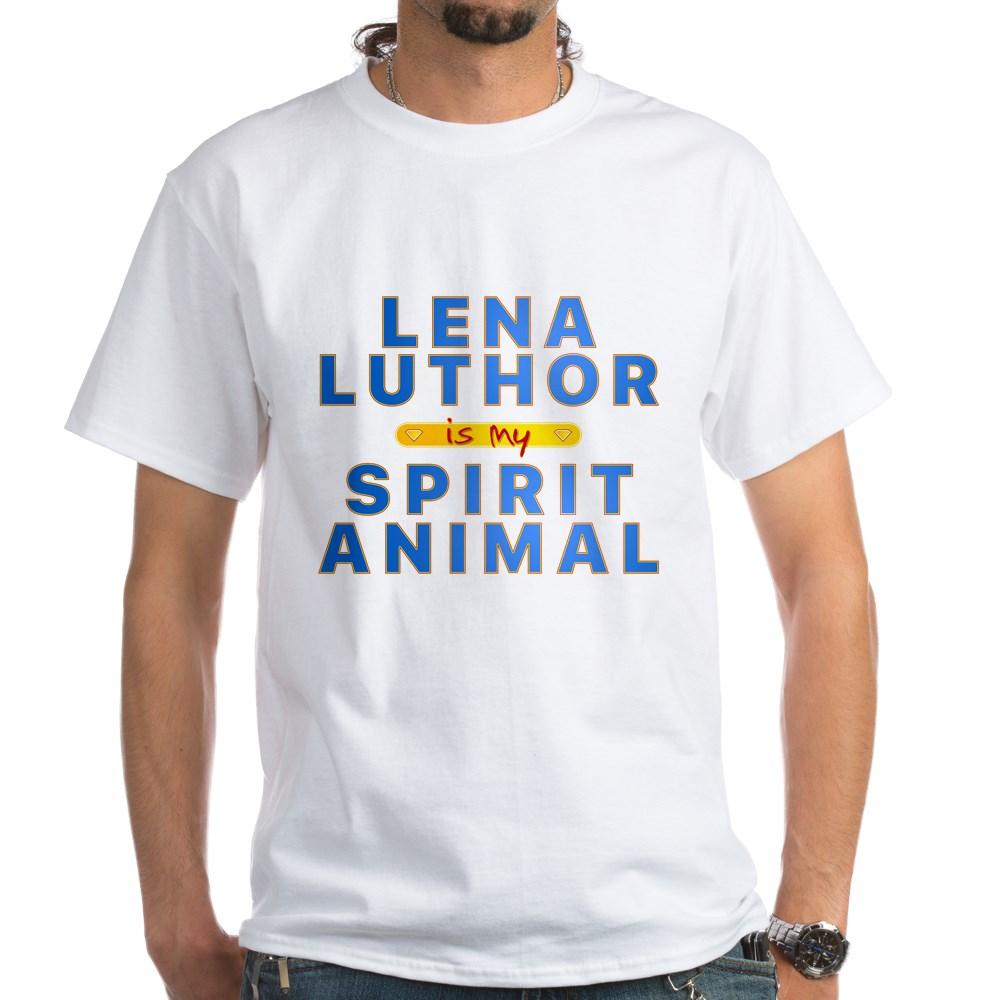 Lena Luthor is my Spirit Animal White T-Shirt