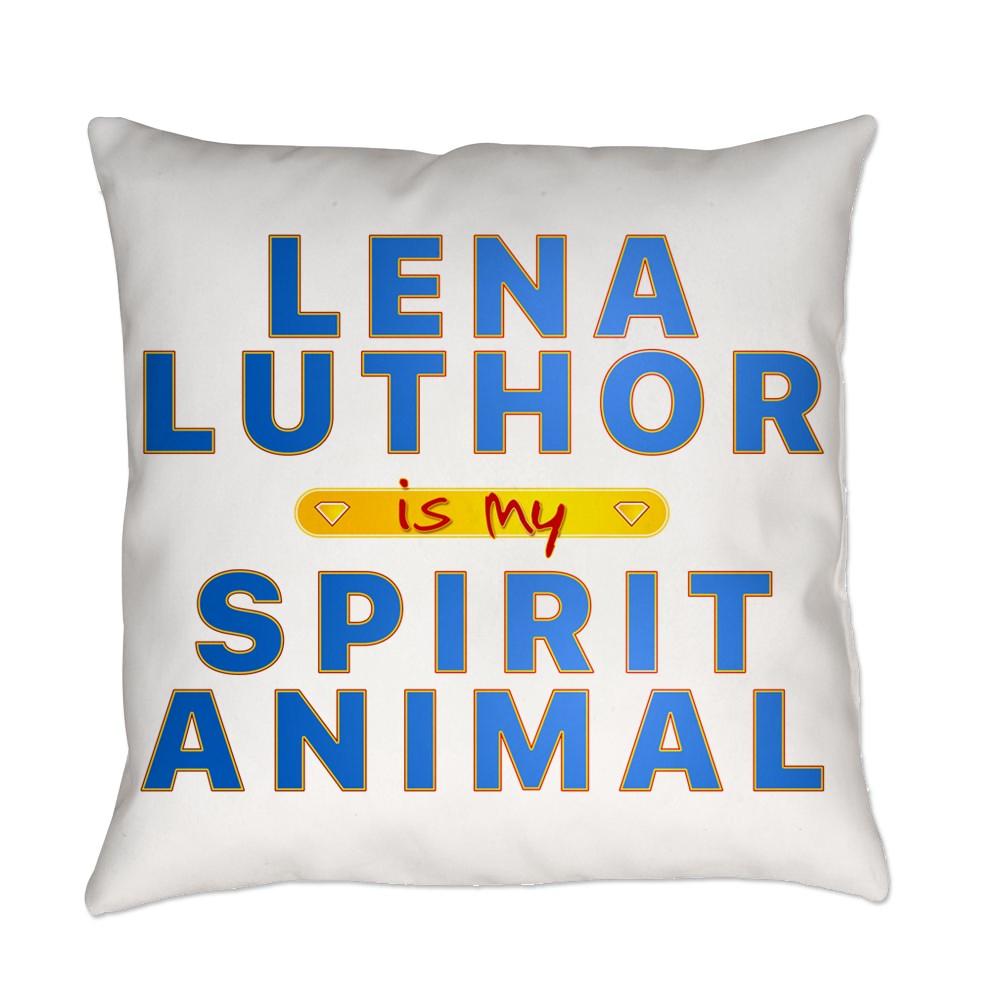 Lena Luthor is my Spirit Animal Everyday Pillow