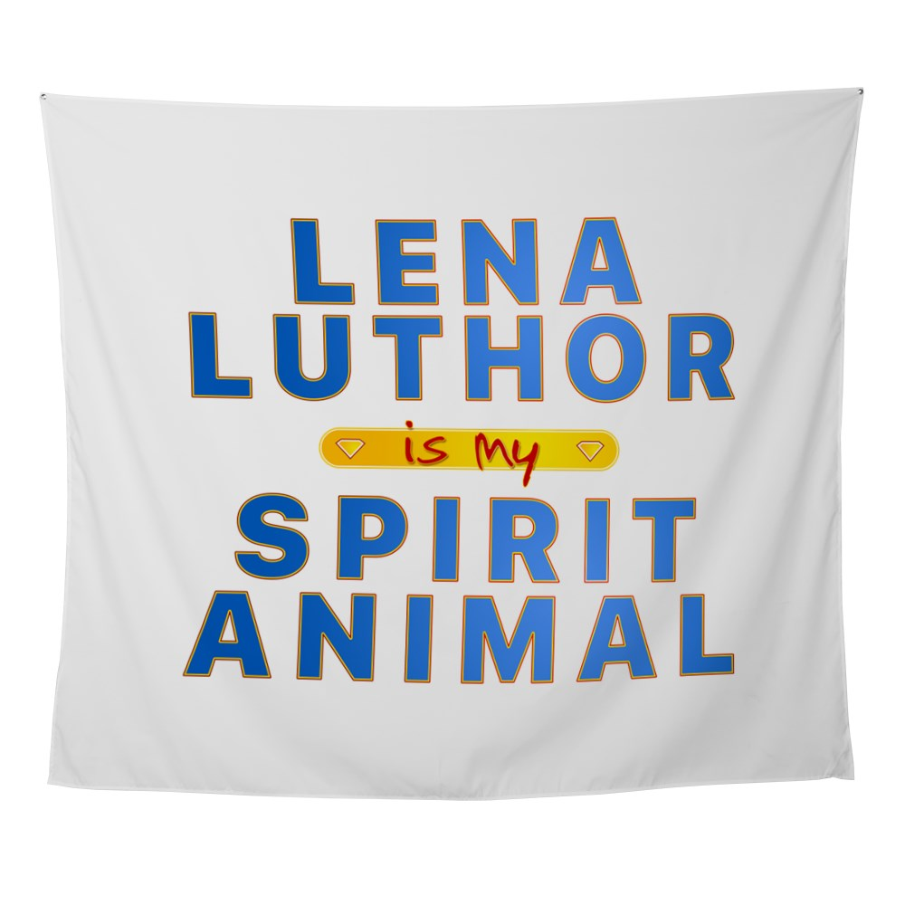 Lena Luthor is my Spirit Animal Wall Tapestry