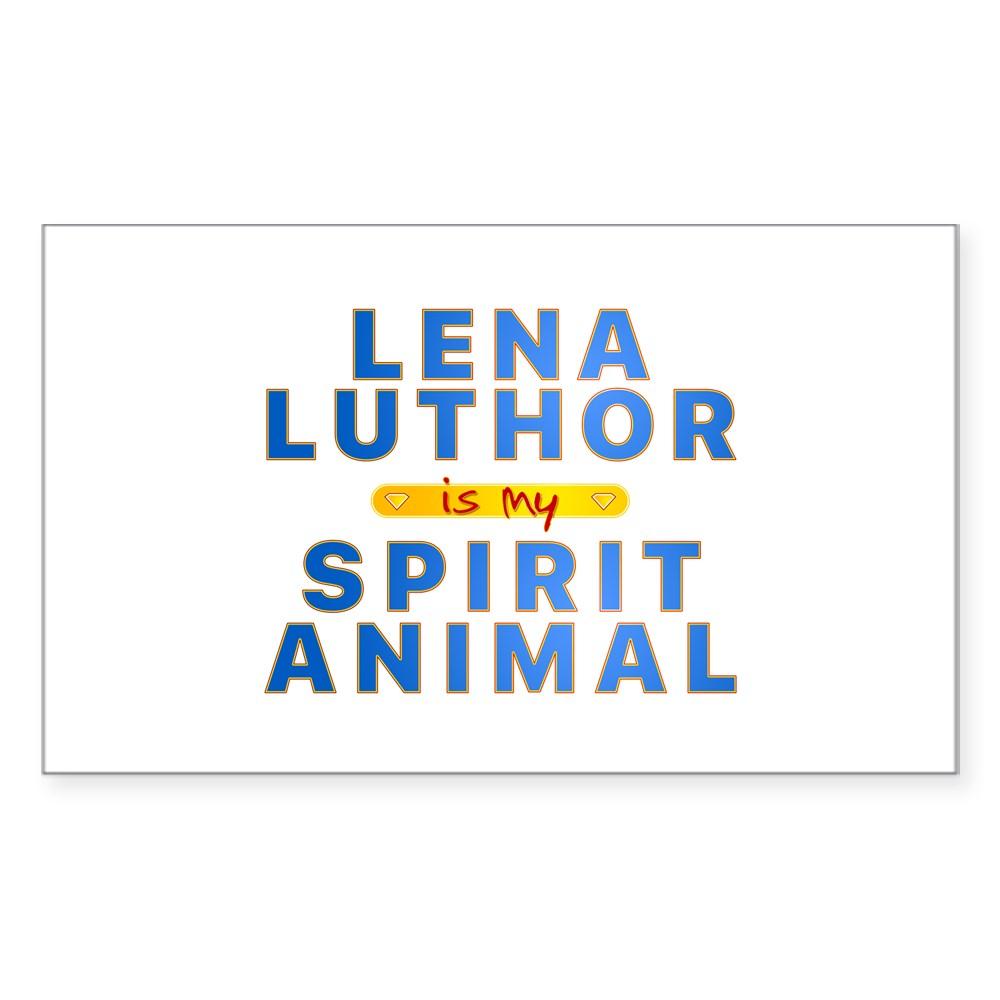 Lena Luthor is my Spirit Animal Rectangle Sticker