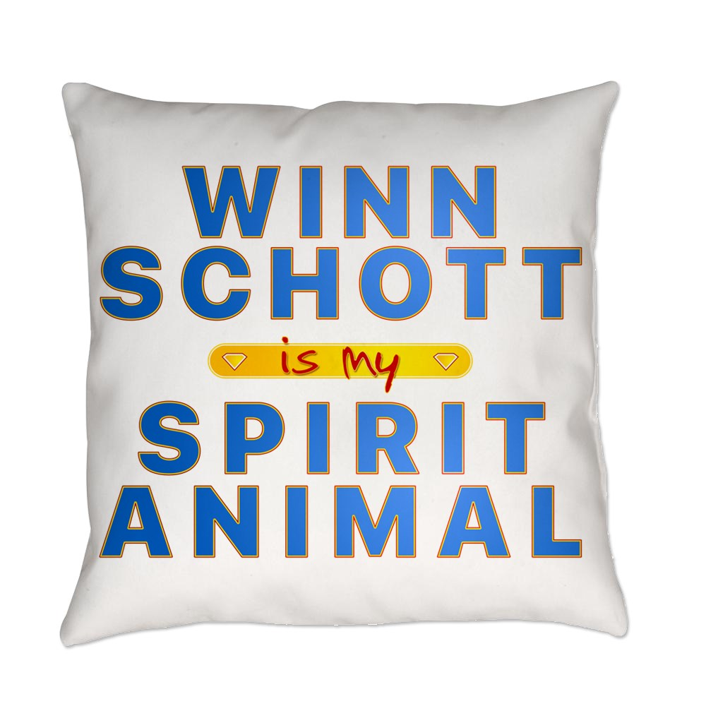 Winn Schott is my Spirit Animal Everyday Pillow