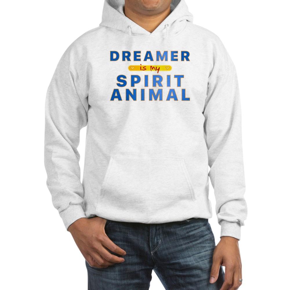 Dreamer is my Spirit Animal Hooded Sweatshirt