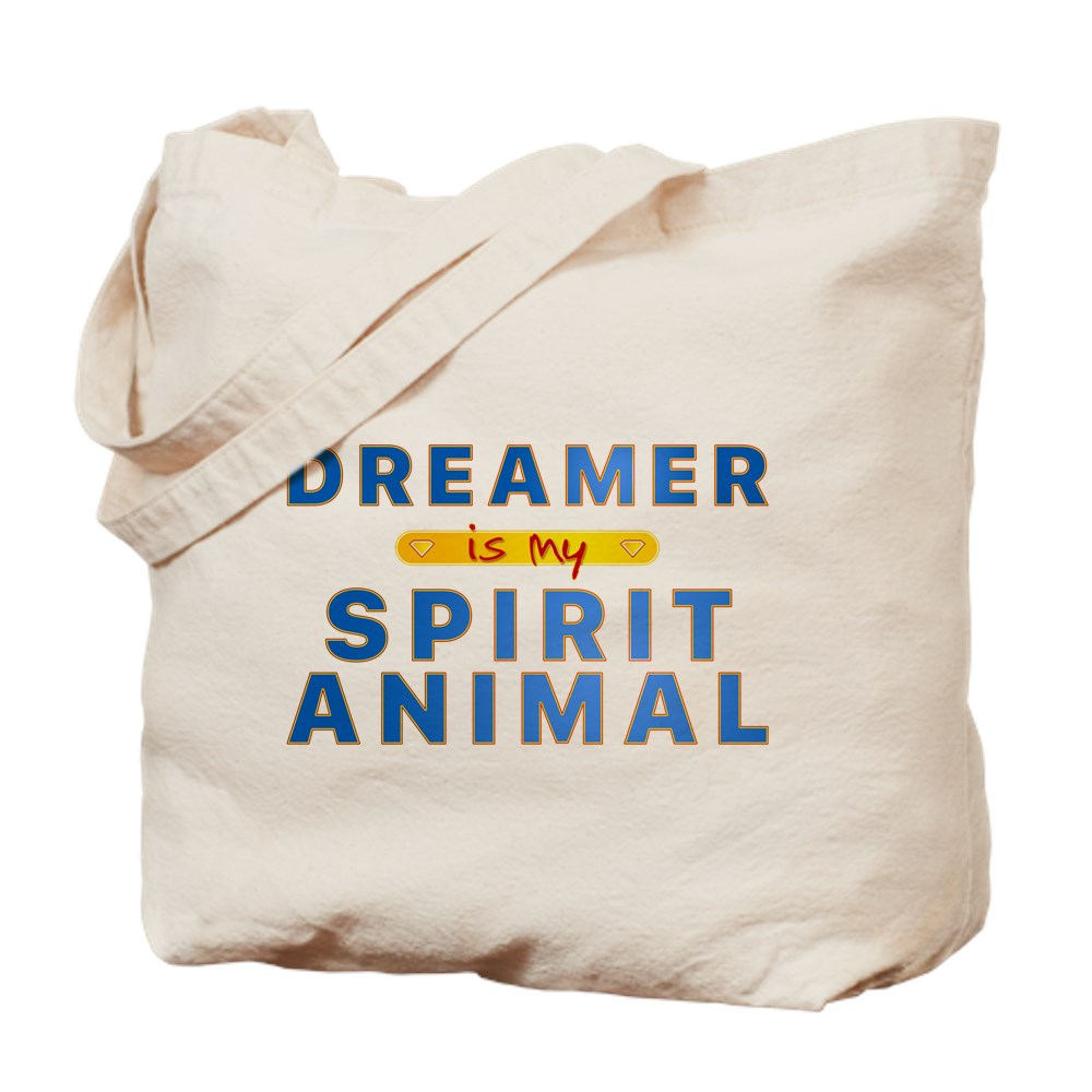Dreamer is my Spirit Animal Tote Bag