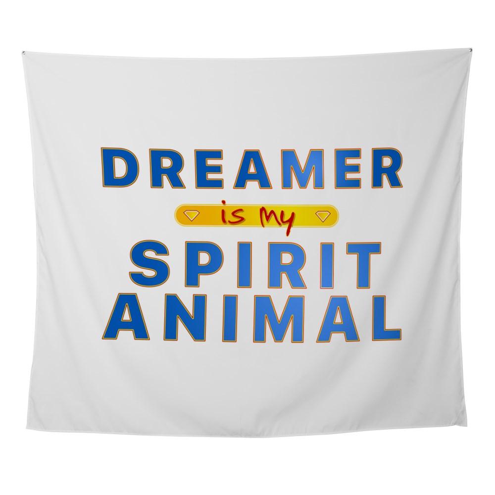 Dreamer is my Spirit Animal Wall Tapestry