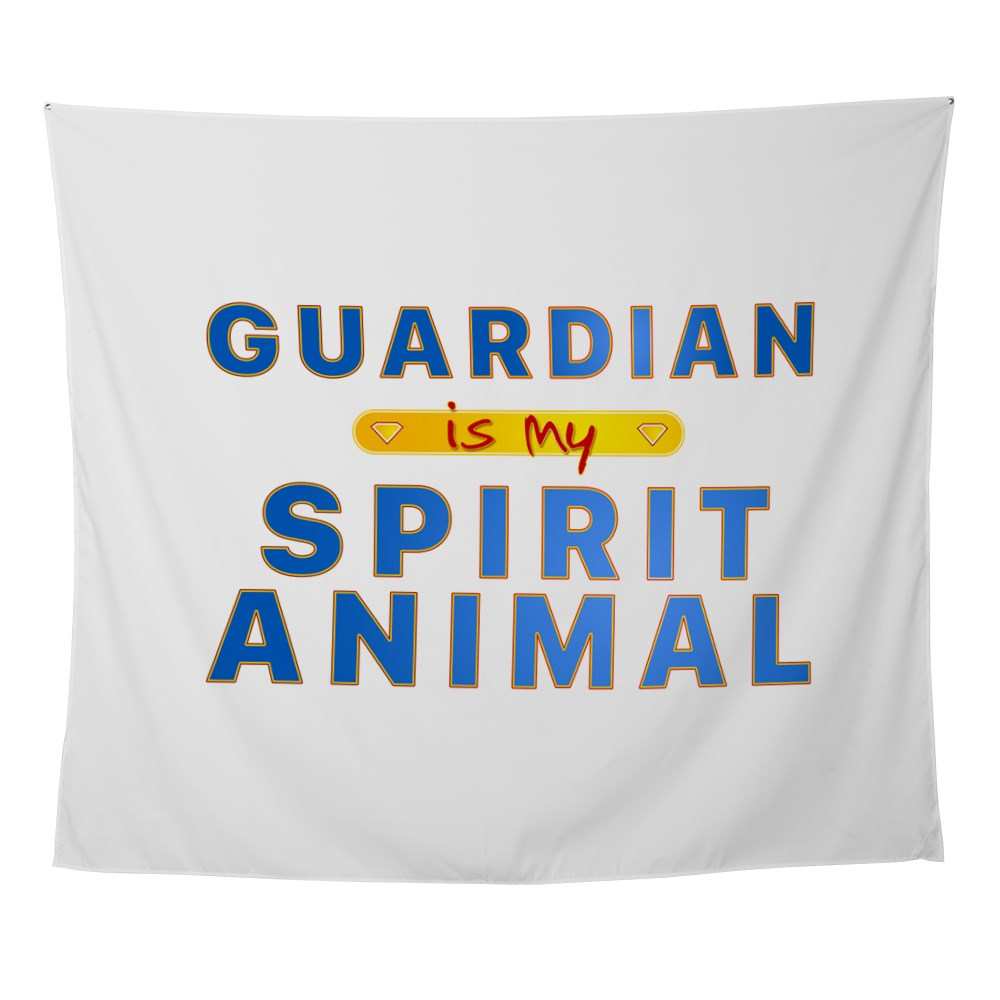 Guardian is my Spirit Animal Wall Tapestry