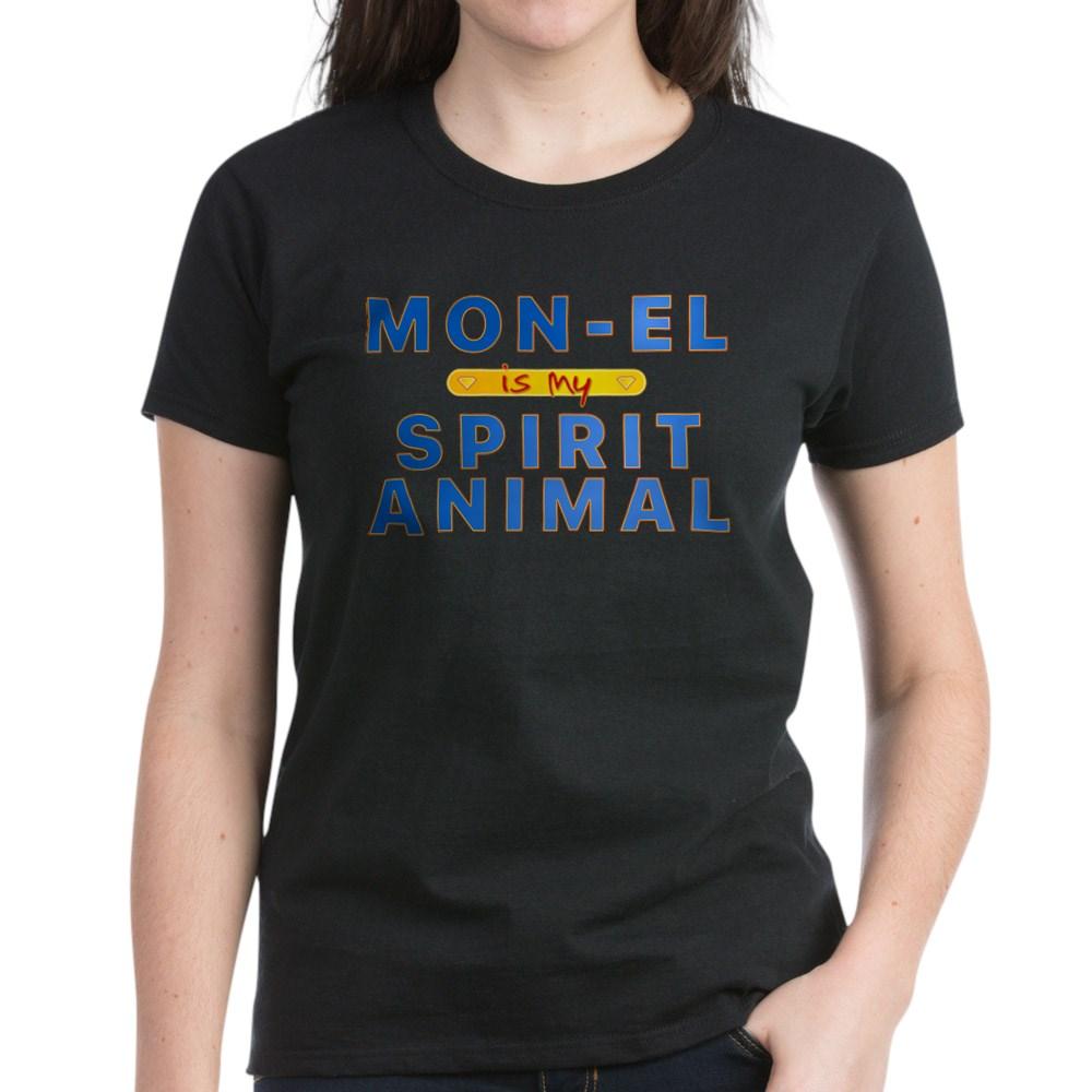 Mon-El is my Spirit Animal Women's Dark T-Shirt