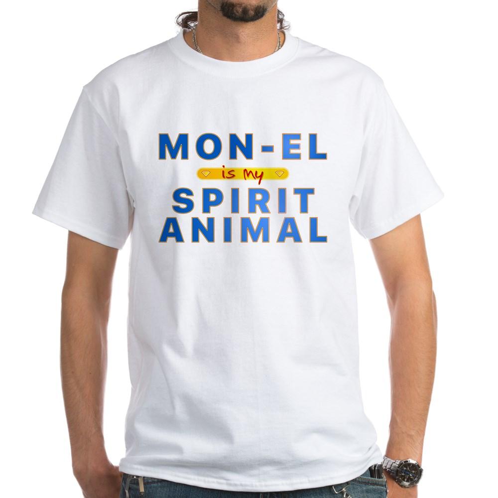 Mon-El is my Spirit Animal White T-Shirt